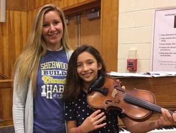 Sherwood Student to Participate in the Long Island String Festival