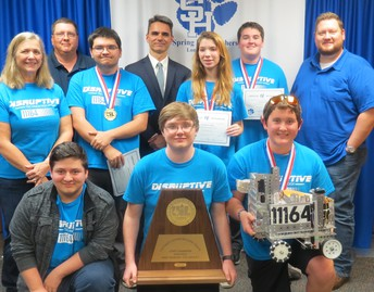 State Champion Robotics Team