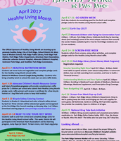 Healthy Living Month