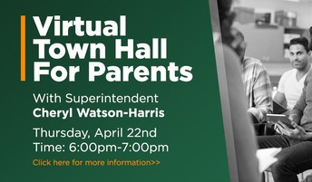 Virtual Town Hall for Parents!