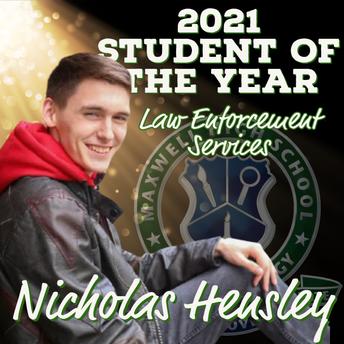 Nicholas Hensley, Law Enforcement Services SOY