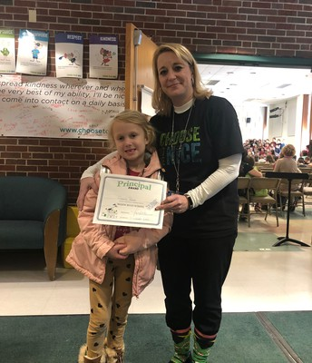 Gabriella P. - Being Courageous after school one day!