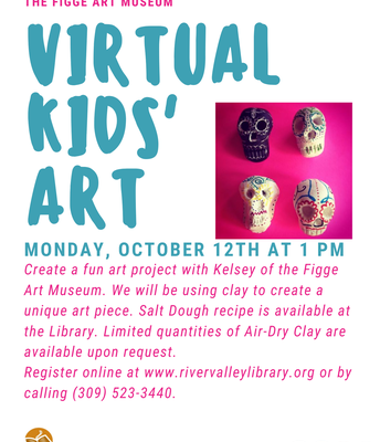 Virtual Kids' Art with the Figge Art Museum