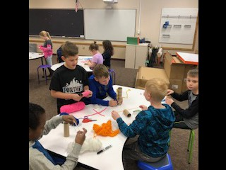 Making character puppets