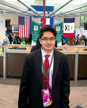 Westview Sophomore Internationally Recognized for Research on Public Health in India