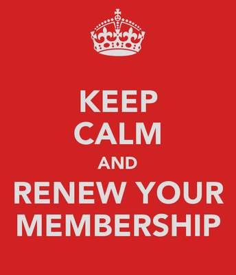 MEMBERSHIP RENEWAL FOR 2019