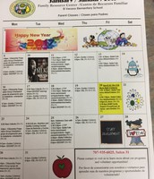 Family Resource Center Calendar