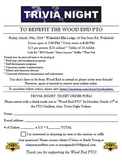 Parent Workshop In Wakefield March 11th >> Wood End Wildcat News Smore Newsletters For Education