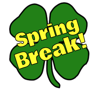 Spring Break and Elementary Full Day Release