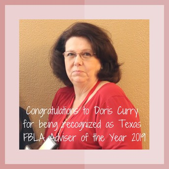 Kerr High School teacher Doris Curry was named Adviser of the Year by the Future Business Leaders of America.