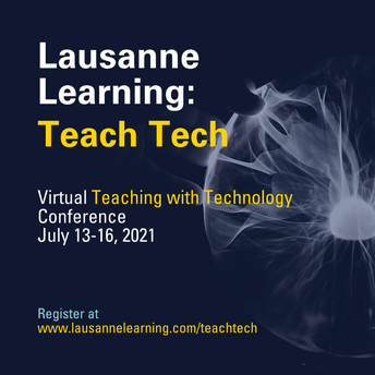 Lausanne Learning Teach Tech Conference DISCOUNT