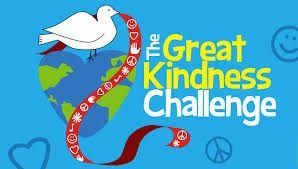 Junior High Students Accept the Great Kindness Challenge