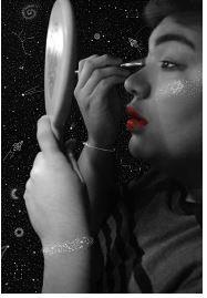 Hannah Dyche, Confidence Beyond Galaxies -Digital Art
