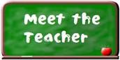 Meet the Teacher - August 17th