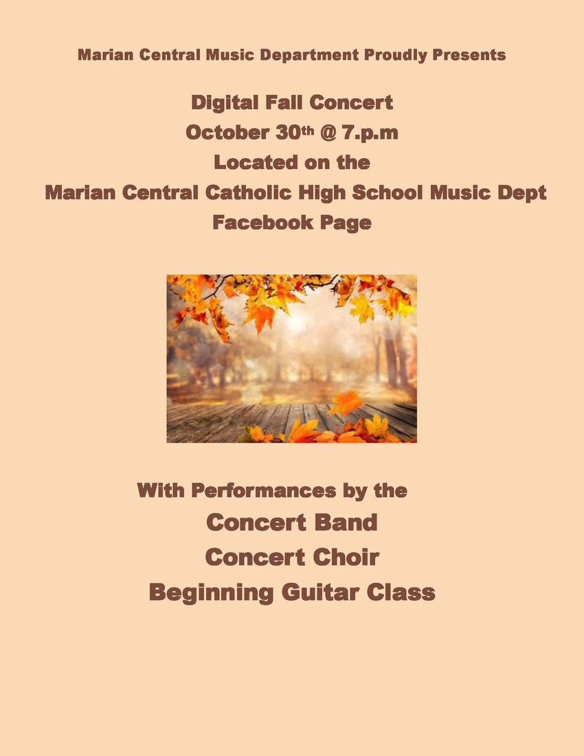Virtual Music Concert 10-30-20