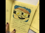 Mrs. Brown's class created books about the Solar Eclipse!