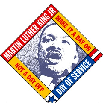 Sign-up information for MLK Day of Service
