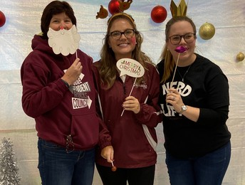 Thanks to our teacher advisors for supporting Mistletoe Market.