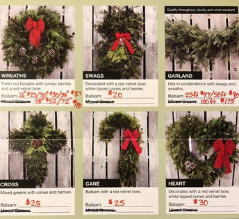 PTO Fundraiser: Wreaths/Greens
