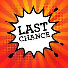 Last Chance to Pick Up Concert Tickets