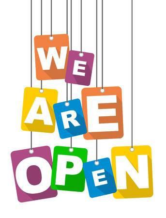 Office is OPEN!