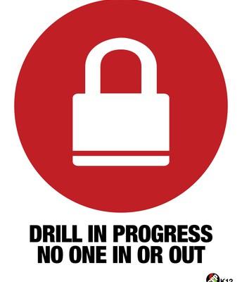 Lockdown Drill today!