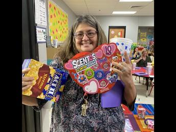 Mrs. Marshall, Prize Winner!