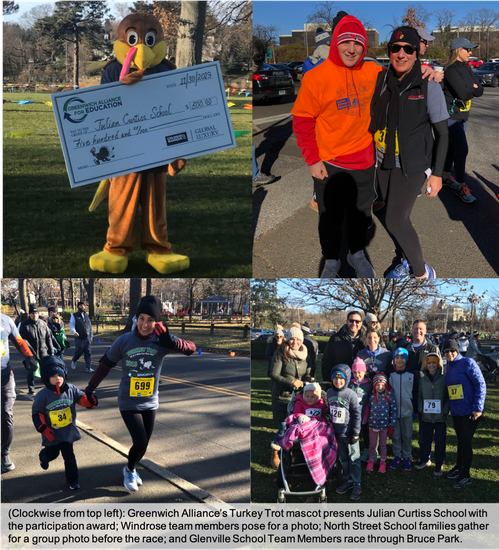 Greenwich Alliance for Education's annual Turkey Trot