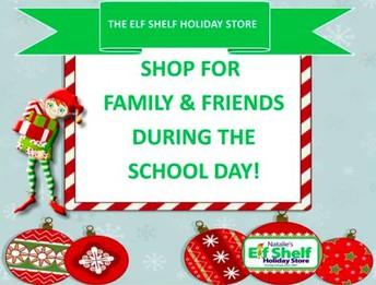 Husky Holiday- Elf Shelf Store this week!