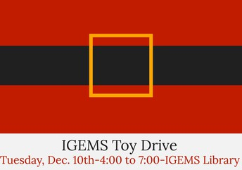 IGEMS Toy Drive