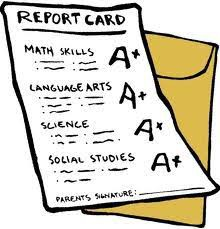 Report Cards-Being Mailed Home!