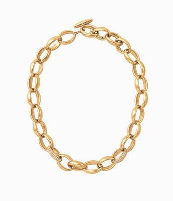 Pavé Chain Link Necklace