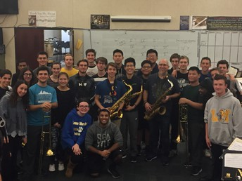 LMHS Jazz Ensemble with Jeff Coffin and Roy Wooten