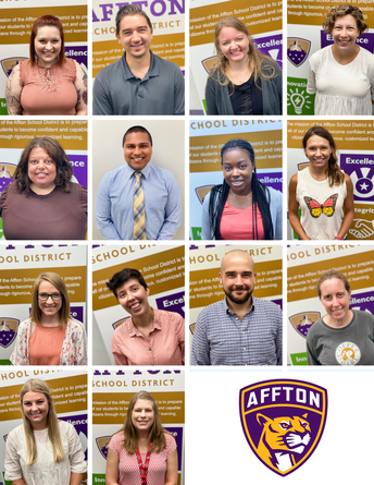 Welcome to Our New Teachers & Staff!