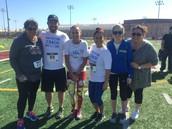 Pershing Teacher Runners