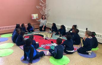 K2C visits the Lower Mills- Boston Public Library!