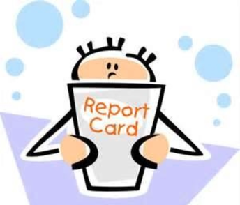 Report Cards on their way