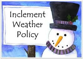 Inclement Weather Plan