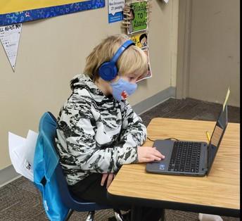 1st Grade Using Technology for Math