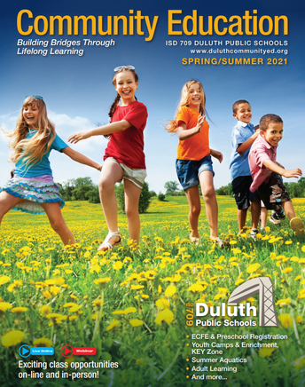 NEW! Duluth Community Education Course Catalog
