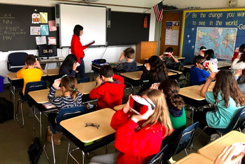Virtual reality In the classroom.