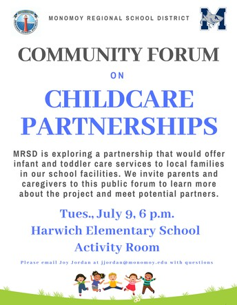 Parents and caregivers invited to community forum on childcare partnerships