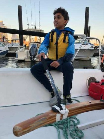 Hoboken Middle & High School Students Set Sail on the Hudson River