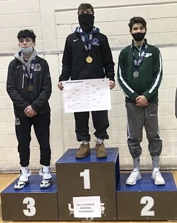 Regional champ Mason Ziegler, a freshman, finishes seventh in state