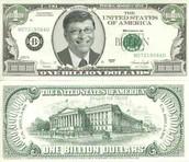 bill gates on a 1billion dollar bill
