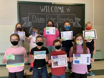 Fourth Grade January Awards