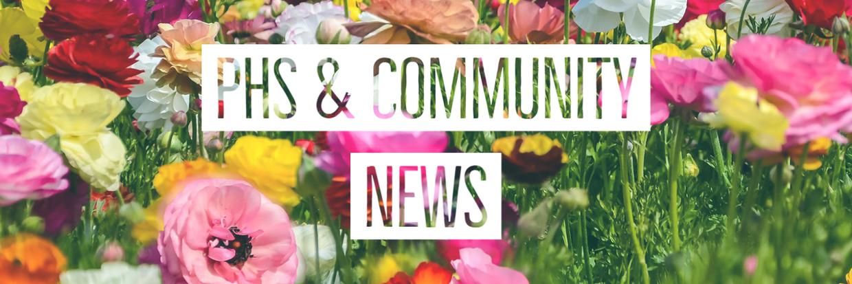 PHS & Community News