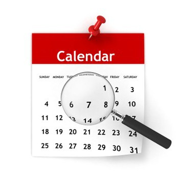 Important Calendars for 2018-2019