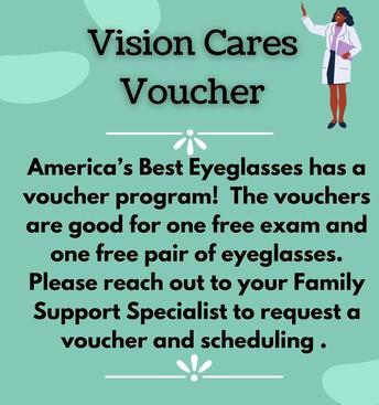 Vision Cares Voucher