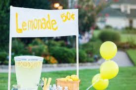 SLS Faith Team Lemonade Stand